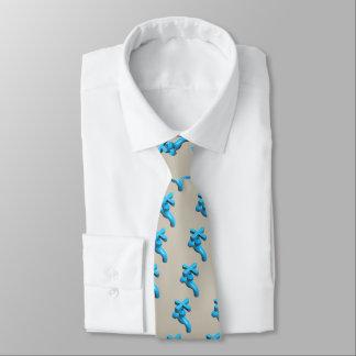 Grifo de agua azul corbata