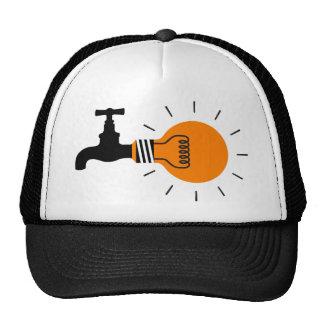 grifo del bulbo de la idea gorras