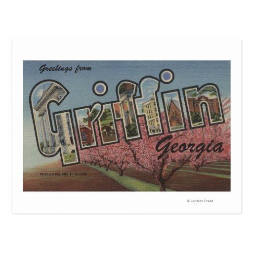 Grifo, Georgia - escenas grandes de la letra Postal