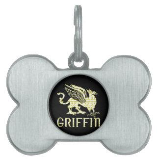 Grifo Placa Mascota