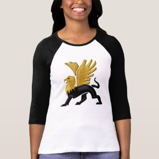 Grifo-Oro y negro Camiseta