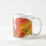 Grifo rojo taza