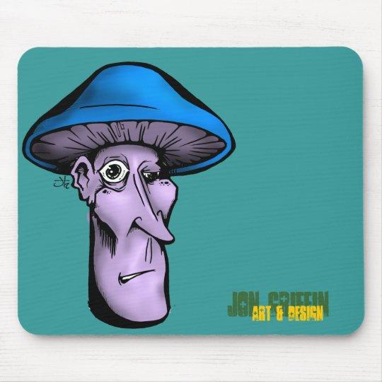 grifo Shroomie-azul, de Jon, arte y diseño Alfombrillas De Raton