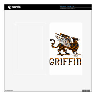 Grifo Pegatina Skin Para Kindle Fire