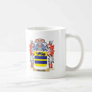 Griggs Coat of Arms - Family Crest Coffee Mug