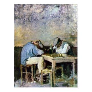 Grigorescu - dos Drunks Postales