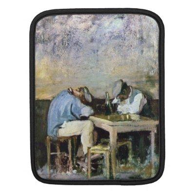 Grigorescu - Two Drunks iPad Sleeve