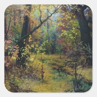 Grigoriy Myasoyedov- Autumn Morning Sticker
