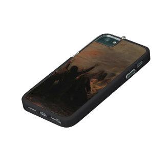 Grigoriy Myasoyedov- People burning themselves iPhone 5/5S Case