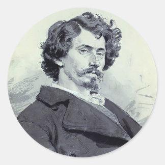 Grigoriy Myasoyedov- Self-Portrait Stickers