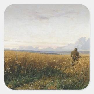 Grigoriy Myasoyedov- The road in the rye Sticker