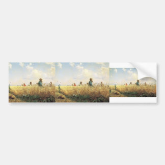 Grigoriy Myasoyedov- Time of harvesting (Mowers) Bumper Stickers