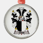Griim Family Crest Ornaments