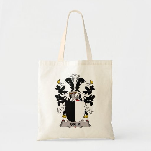 Griim Family Crest Tote Bags