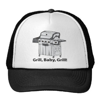 Grill, Baby, Grill! Mesh Hat