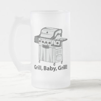 Grill, Baby, Grill! Mugs