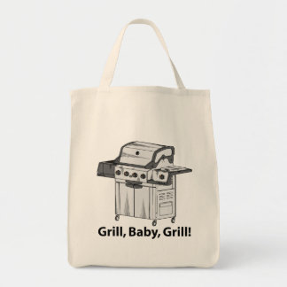 Grill, Baby, Grill! Tote Bag