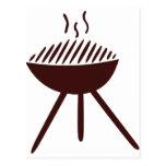 Grill - BBQ Postcard