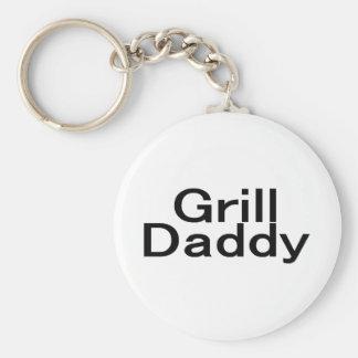 Grill Daddy Key Chain
