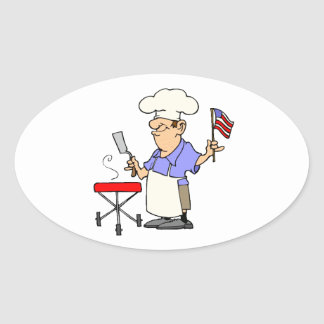 Grill Daddy Oval Sticker
