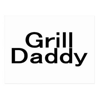 Grill Daddy Postcard