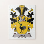 Grill Family Crest Jigsaw Puzzle