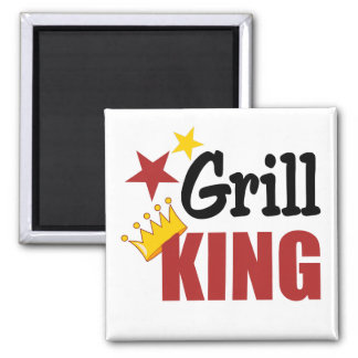 Grill Gift 2 Inch Square Magnet