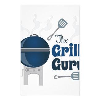 Grill Guru Stationery