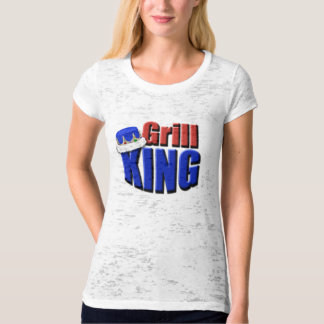 Grill King Barbeque Gift T-Shirt