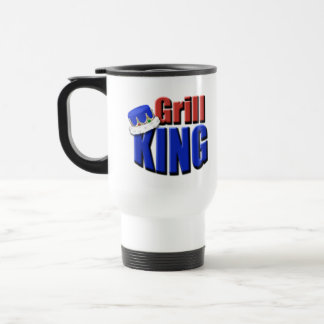 Grill King Barbeque Gift Travel Mug