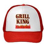 Grill King BBQ Saying Hat