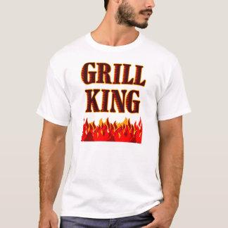 Grill King BBQ Saying T-Shirt