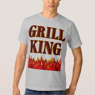 Grill King BBQ Saying Tee