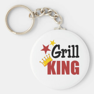 Grill King Keychain