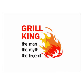 GRILL KING LEGEND POSTCARD