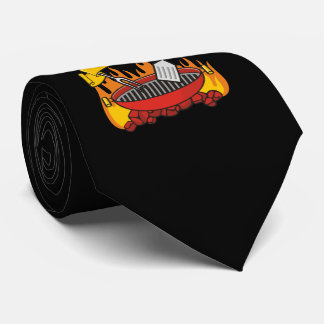Grill King Neck Tie