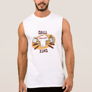 Grill King Personalized Shirt