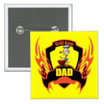 Grill King Pinback Buttons
