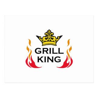 GRILL KING POSTCARD