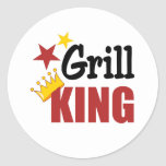 Grill King Stickers