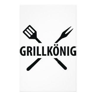 Grill König icon Stationery
