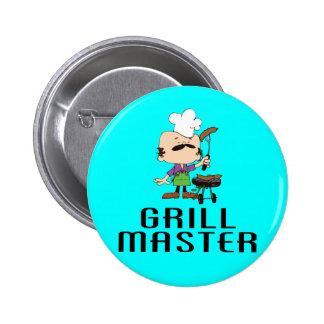 Grill Master (2) Pin Redondo De 2 Pulgadas