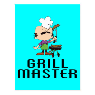 Grill Master (2) Post Cards