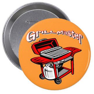 Grill Master 4 Inch Round Button