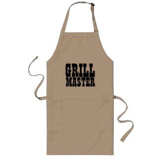 Grill master apron for men | beige