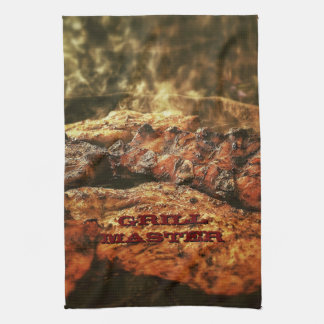 Grill Master Barbecue Personalized Gifts Hand Towel