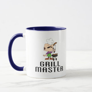 Grill Master Barbeque Man Mug
