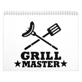Grill Master Calendarios
