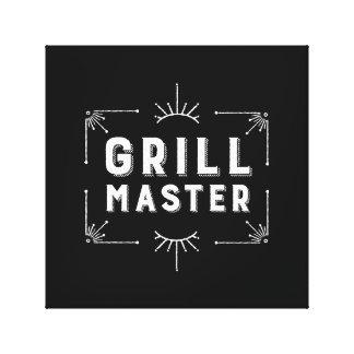 Grill Master Canvas Print