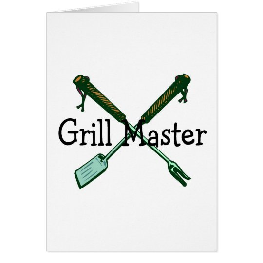 Grill Master Card